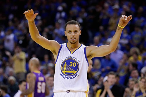 Steven Curry, Golden State Warriors | Getty Images