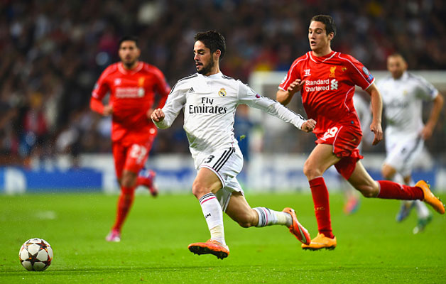 Isco en el Bernabéu | Getty