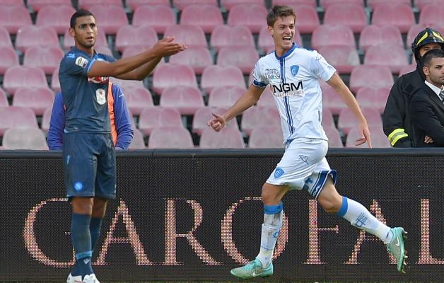 El prometedor Rugani anotó contra el Napoli
