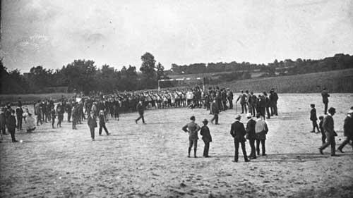 El BVB jugó su primer partido oficial en 1911 ante el VfB Dortmund   Bundesliga.de