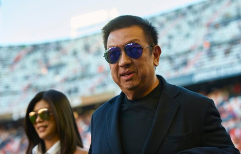 Peter Lim en Mestalla | Getty Images
