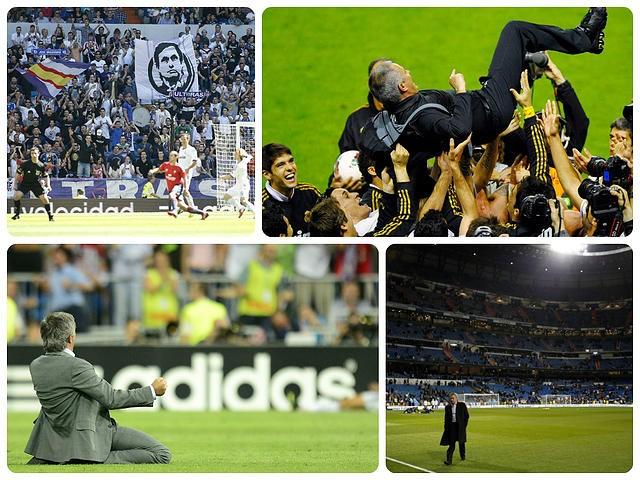 Mourinho en el Real Madrid