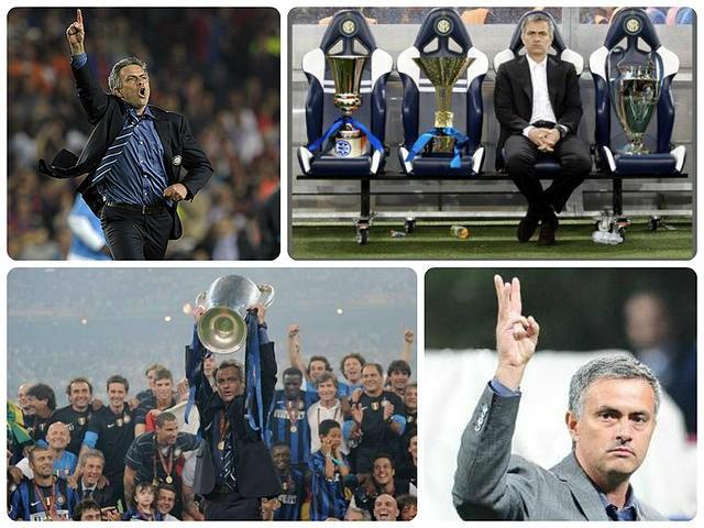 En 2010, Mourinho ganó el triplete con el Inter