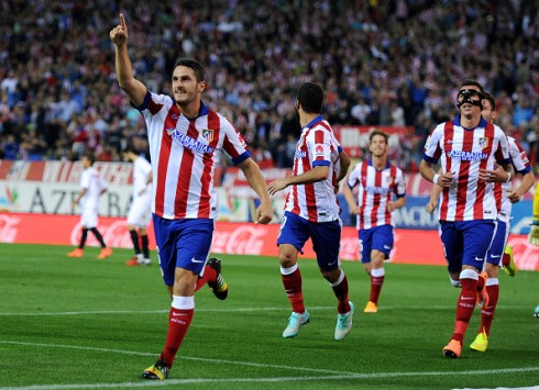Koke celebra su primer gol en Liga ante el Sevilla FC | Getty Images