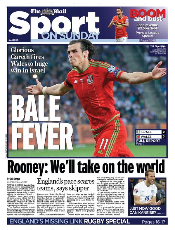 Portada Daily Mail 20150329