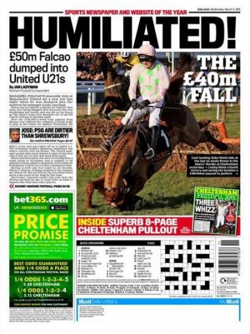 Portada Daily Mail 20151103