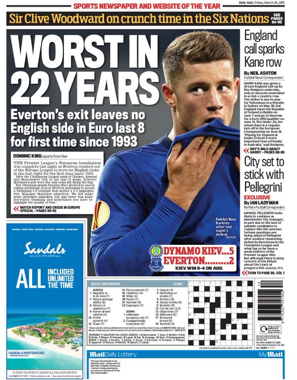 Portada Daily Mail 20152003