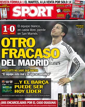 Portada Sport 20150308