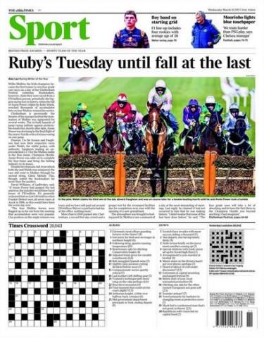 Portada Times Sport 20151103