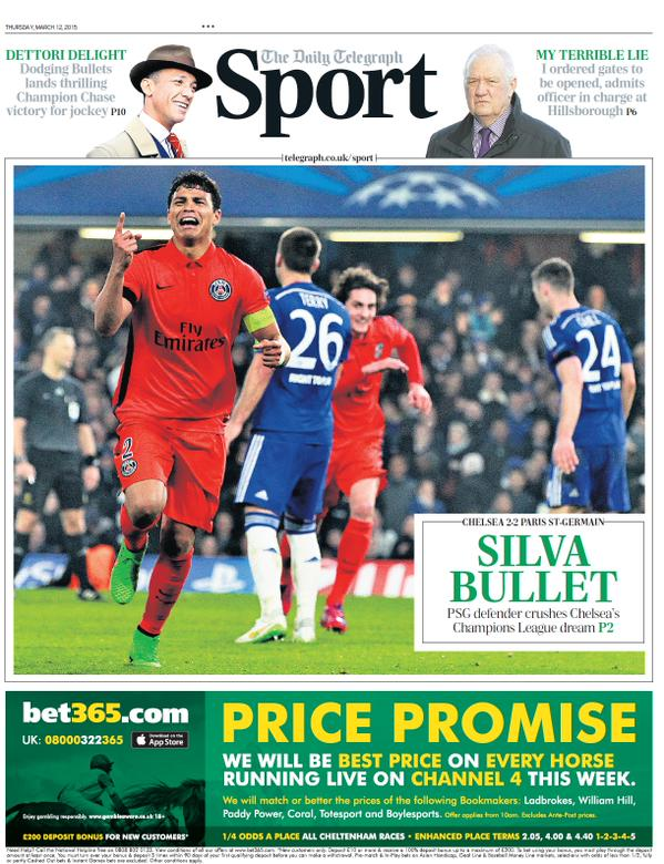 Telegraph Sport portada