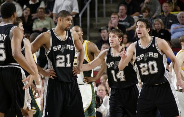 Spurs v SuperSonics