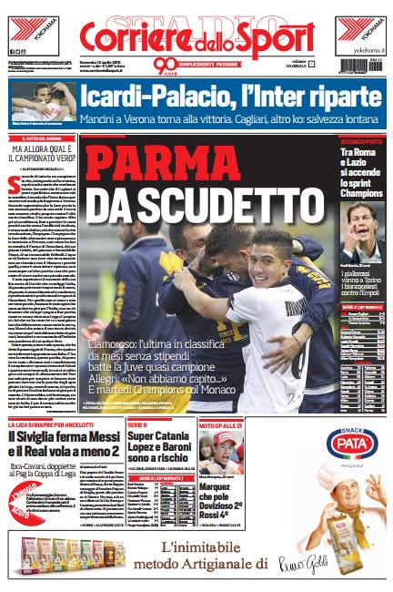 Portada Corriere 20151204