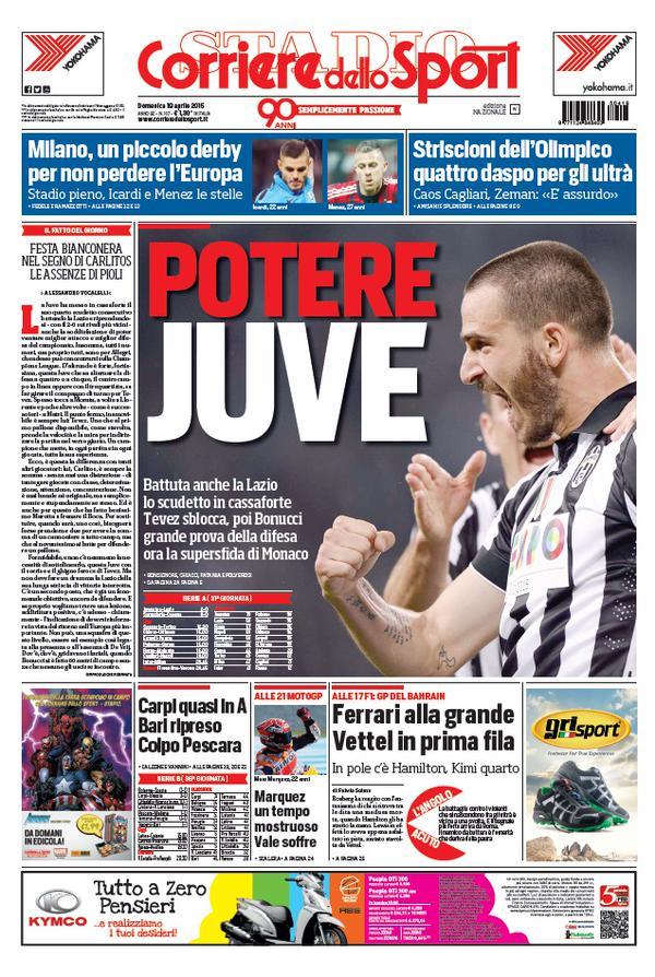 Portada Corriere 20151904