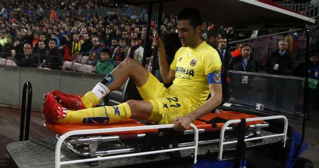 Bruno sale lesionado del Camp Nou en la ida de semifinales de Copa del Rey