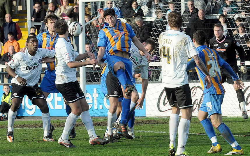 Hereford United v Shrewsbury Town