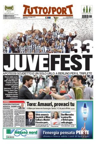 Portada Tuttosport 20152405