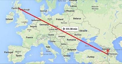 El @St_Johnstone_FC tendrá que recorrer 6.000 millas para medirse al Alashkert armenio
