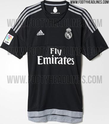 Camisetas 2015 16 de los porteros del real madrid sphera sports