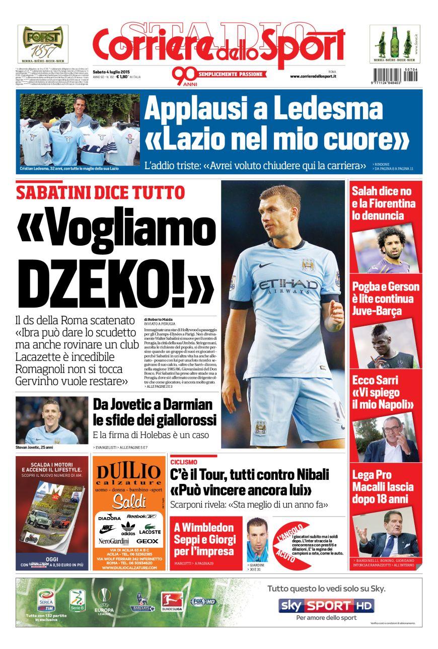 Portada Corriere 20150507