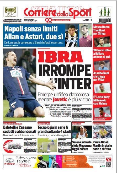 Portada Corriere 20150710
