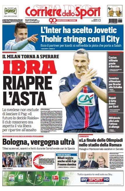 portada-de-corriere-dello-sport-del-23-de-julio-de-2015