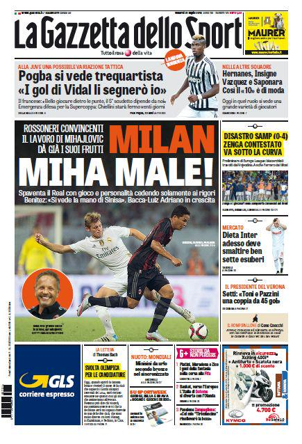portada-de-gazzetta-dello-sport-del-31-de-julio-de-2015