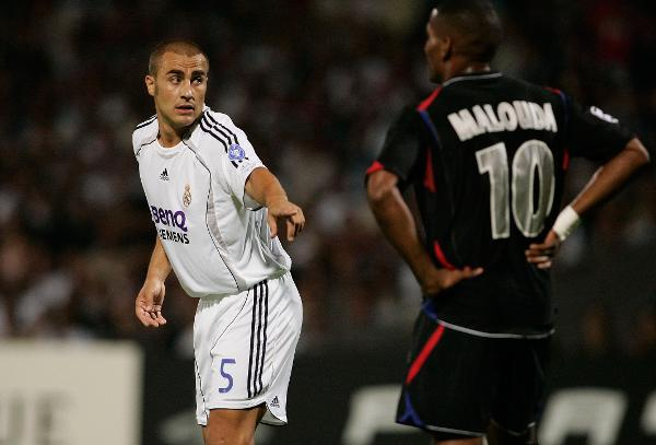 FUSSBALL  CHL   Olympique Lyon - CF Real Madrid