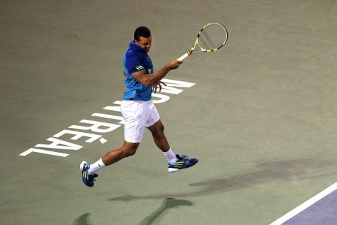 13 AGO 2011: Jo-Wilfried Tsonga (FRA) contra Novak Djokovic (SER) | Imagen Picture Alliance