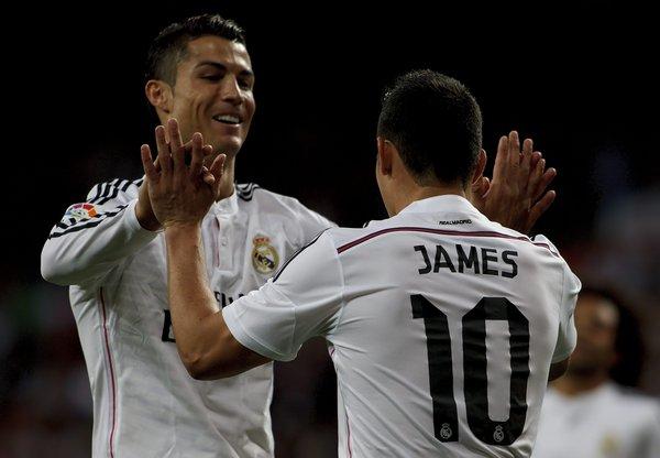 Spanish League 2014/15: Real Madrid vs Getafe