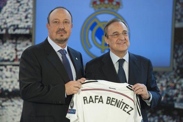 FUSSBALL - Rafa BENITEZ neuer Trainer bei Real Madrid