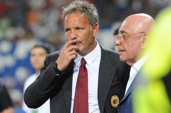 Soccer, Trofeo Tim: Sassuolo Milan inter