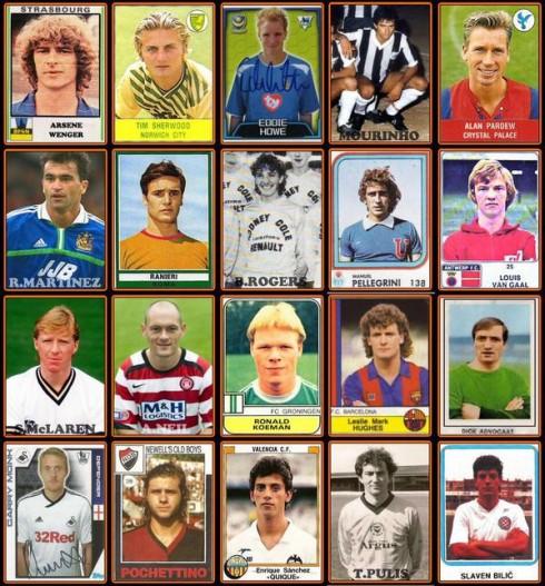 Los 20 entrenadores de la Premier League en su época de jugador   Vía @football_tweet