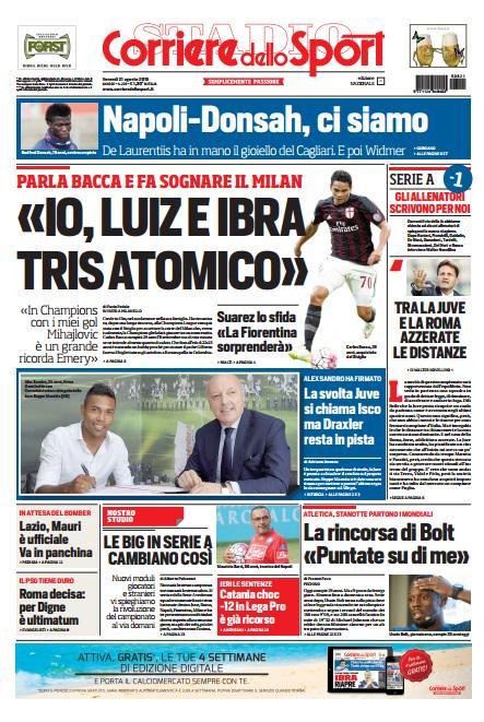 Portada Corriere 20150821