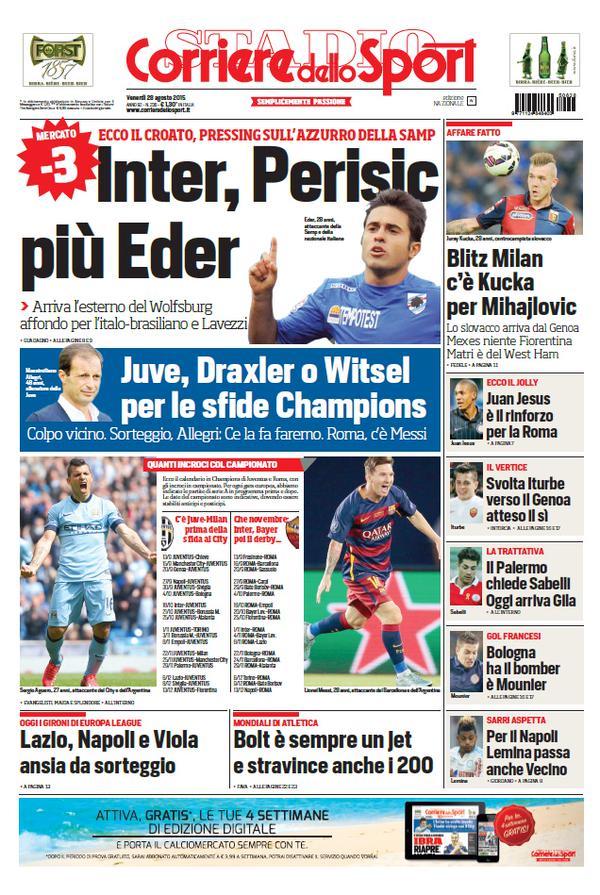 Portada Corriere 20150828