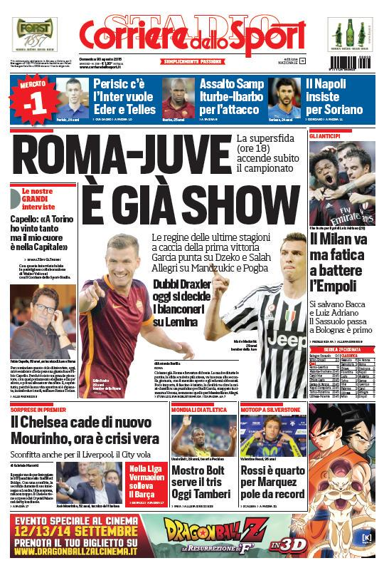 Portada Corriere 20153008