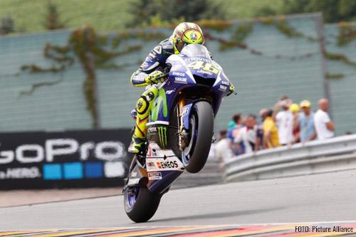 Valentino Rossi, líder de la clasificación 2015 de Moto GP.