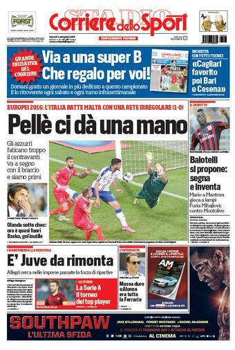 Portada Corriere 20150904