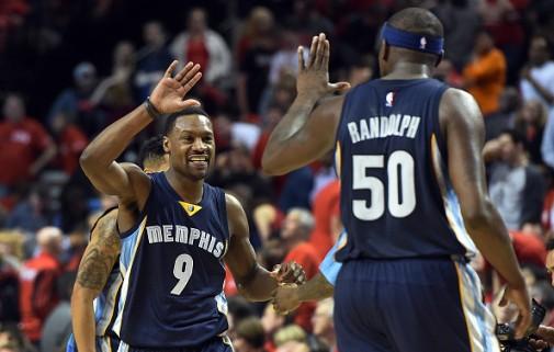 Randolph y Allen, junto a Conley, Green y Marc, forman uno de los mejores quintetos de la NBA