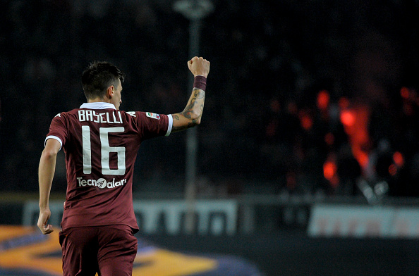 STADIO OLIMPICO, TURIN, ITALY - 2015/10/17: Daniele Baselli celebrates after scoring during the Series A match between Torino FC and AC Milan. (Photo by Nicolò Campo/Pacific Press/LightRocket via Getty Images)