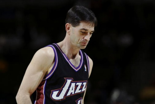 John Stockton | Utah Jazz (2003). Getty Images