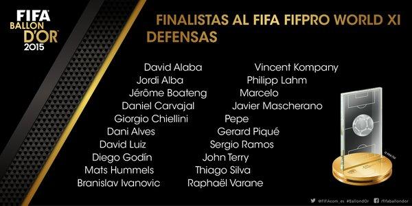 DEFENSAS FIFA