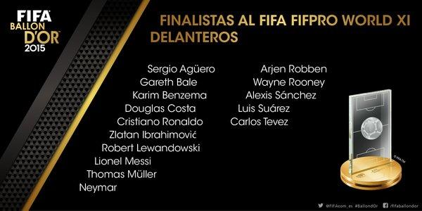 DELANTEROS FIFA