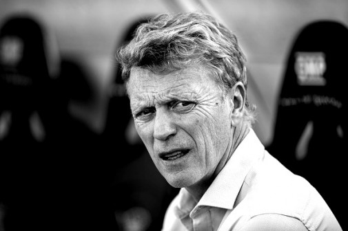 SAN SEBASTIAN, SPAIN - AUGUST 29:  Head coach David Moyes of Real Sociedad looks on prior to the start the la Liga match between Real Sociedad de Futbol and Sporting Gijon at Estadio Anoeta on August 29, 2015 in San Sebastian, Spain.  (Photo by Juan Manuel Serrano Arce/Getty Images)