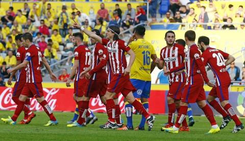 Filipe Luis abrió el marcador en Gran Canaria