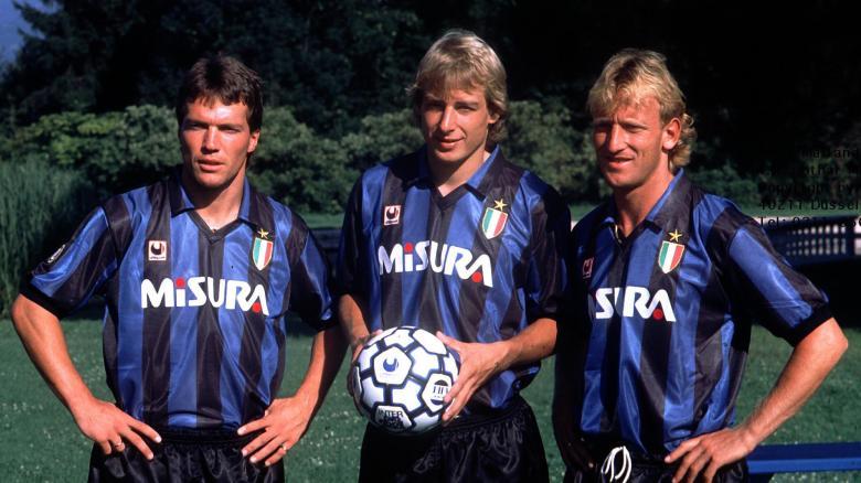 Matthaus, Klinsmann y Brehme, el Inter de los alemanes