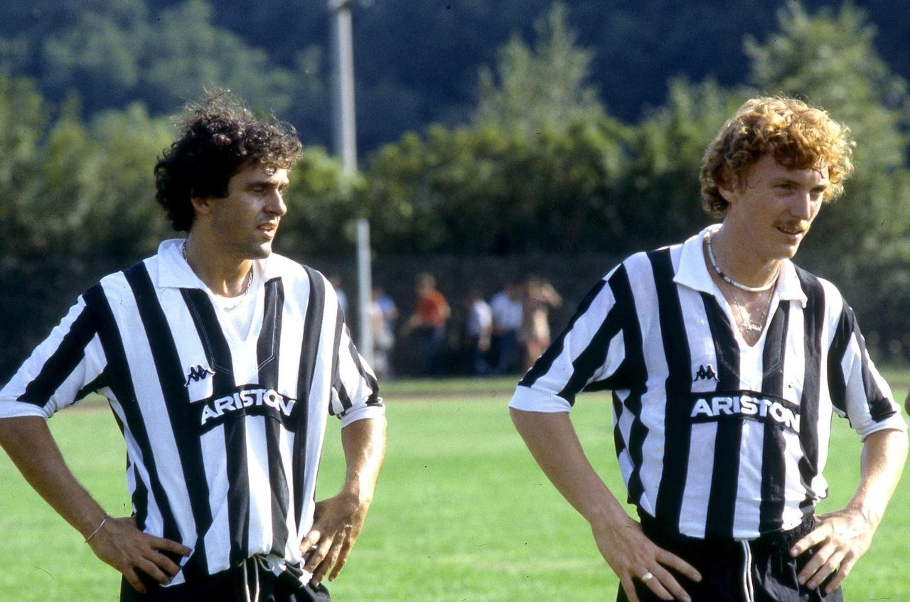 Platini y Boniek llevaron a la Juventus al Scudetto