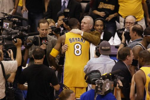 Kobe y Gregg, ganadores natos | Getty Images