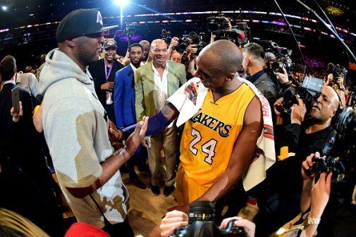 Kobe y Lamar, juntos ganaron dos de los cinco anillos de Kobe | Getty Images