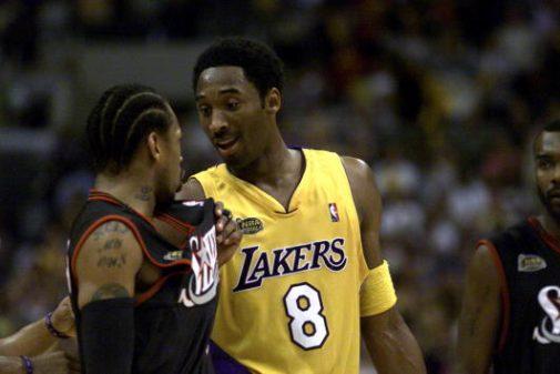Kobe Bryant y Allen Iverson en las Finales | Getty Images