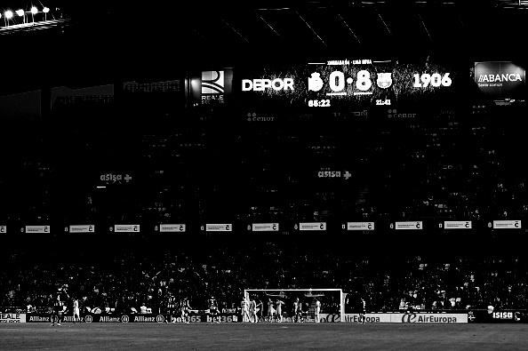 RC Deportivo La Coruna v FC Barcelona - La Liga